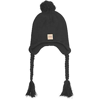 Urban classics - Pom Knit Beanie winter Hat black