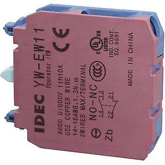 Idec YW-EW11 Contact 1 maker, 1 breaker momentary 240 V AC 1 pc(s)