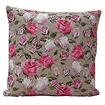 English Rose Design Cushion