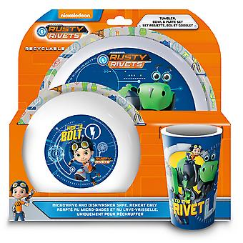 Rusty Rivets 3 pces diner