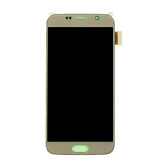 LCD Display & Touch Screen Digitizer Assembly Replacement for Samsung Galaxy S6 (Gold)