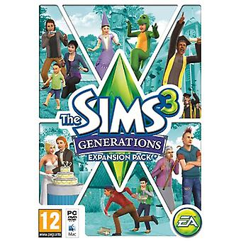 The Sims 3 Generations (PCMac DVD) - New