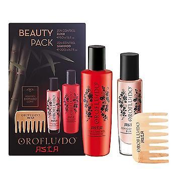 Revlon asiatische Schönheit Serum Shampoo & Peine von Orofluido