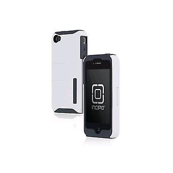 5 Pack -Incipio SILICRYLIC Case with Kickstand for Apple iPhone 4/4s - Gray/White