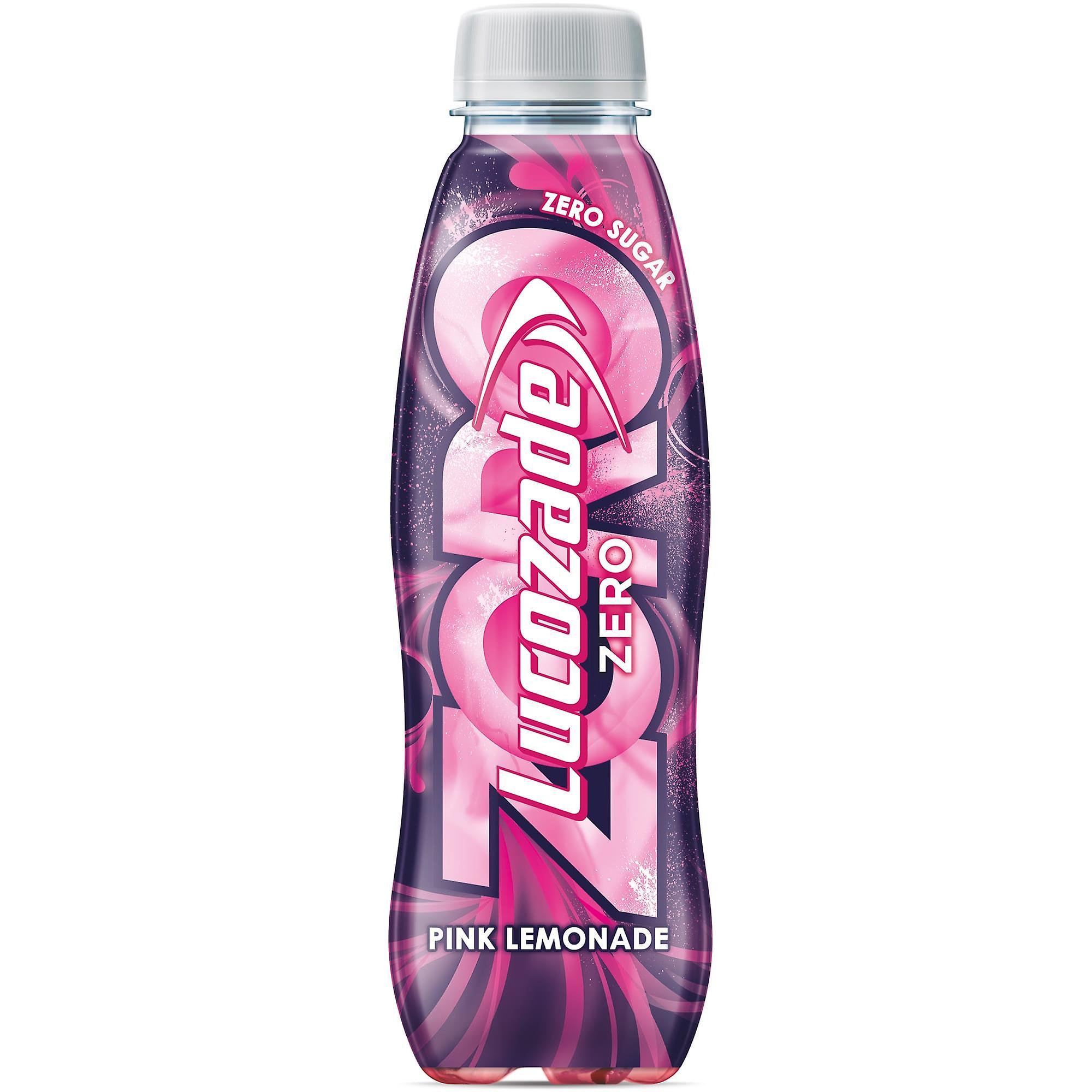 Lucozade Zero Sugar Free Pink Lemonade
