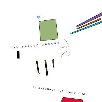 Tim Friese-Greene - 10 Sketches for Piano Trio [CD] USA import