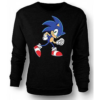 Kids Sweatshirt køre Sonic Run - Sonic Hegehog