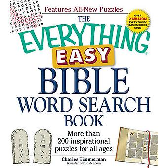 The Everything Easy Bible Word Search Book - More Than 200 Inspiration