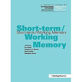 Themanummer van het korte-termijn/werkgeheugen A van het internationale tijdschrift voor de psychologie