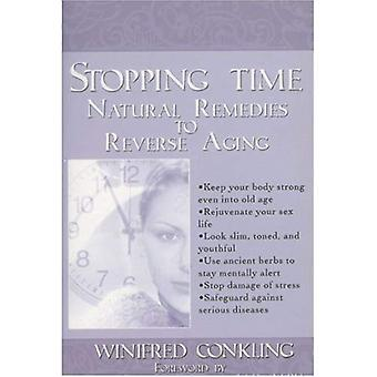 Stopping Time : Natural Remedies to Reverse Aging (Paperback): Natural Remedies to Reverse Aging