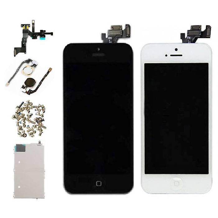 Stuff Certified® iPhone 5 Pre-assembled Screen (Touchscreen + LCD + Parts) AA + Quality - Black + Tools