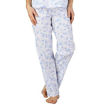 Slenderella PJ3208 Women's Cotton Woven Pajama Pyjama Set