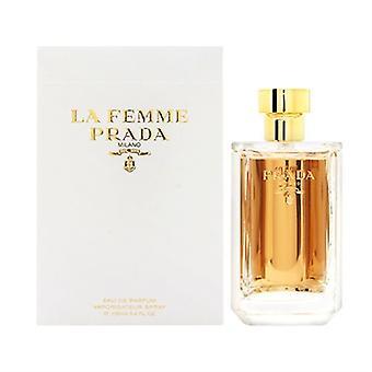 La Femme, Prada для женщин 3,4 унции Eau De Parfum спрей