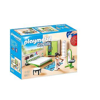 Playmobil 9271 Stadt Leben Schlafzimmer mit Licht arbeiten