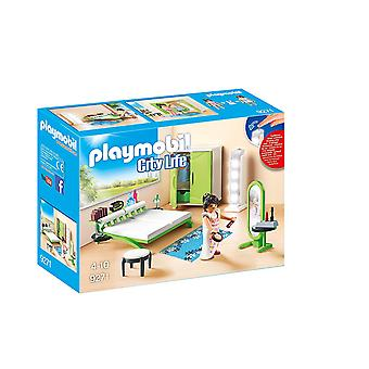 Playmobil 9271 City Life sovrum med arbetsbelysning
