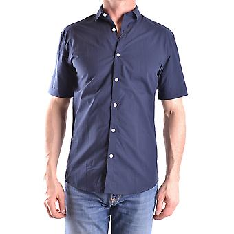Selected Homme Ezbc157002 Men's Blue Cotton Shirt