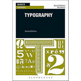 Typography by Paul Harris - Gavin Ambrose - 9781474225281 Book