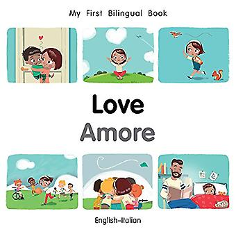 My First Bilingual Book-Love (English-Italian) by Milet Publishing -
