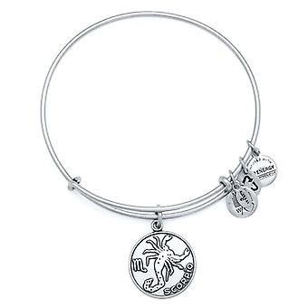 Alex and Ani Scorpio Silver Bangle A13EB01SCRS
