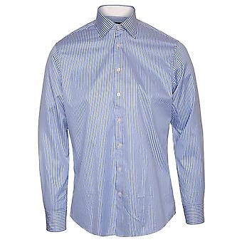 Hackett Classic Wide Stripe shirt, azul
