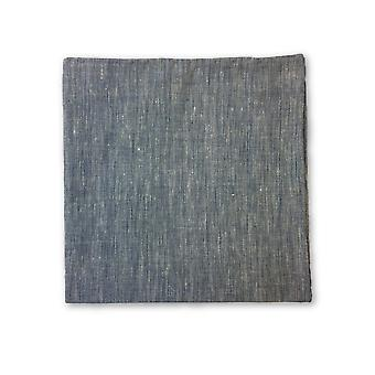 Olymp Pocket Square in light blue marl