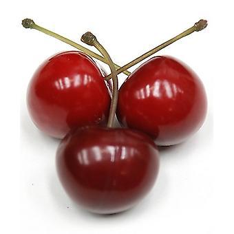 Artificial 36 Cherries in a PVC box