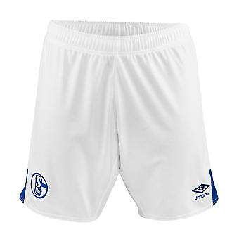 2019-2020 Schalke Home Football Shorts (White)