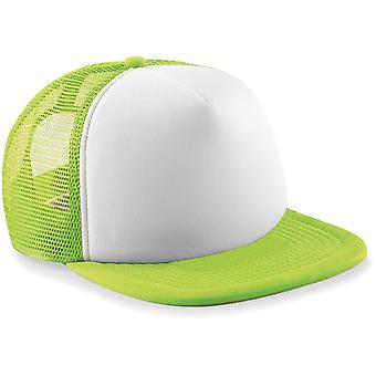 Beechfield - Junior Kids Vintage Snapback Cap Hat Trucker Cap
