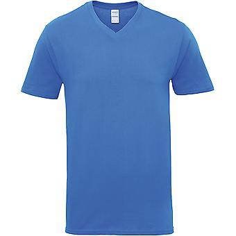 Gildan-Premium-T-shirt med V-udskæring i bomuld