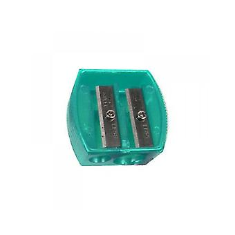 Body Collection Duo Cosmetic Pencil Sharpener ~ Green