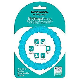 Rosewood BioSafe Puppy Ring- Azul