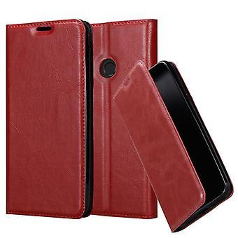 Cadorabo Hülle für Huawei P SMART 2019 Case Cover - Handyhülle mit Magnetverschluss, Standfunktion und Kartenfach – Case Cover Schutzhülle Etui Tasche Book Klapp Style