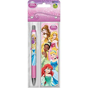 Gel Pen - Disney Princess - w/Bookmark Packs Toys Gifts Stationery New iw3527