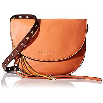 Liebeskind Berlin Dive Bag Clutch Small - Orange Women's Day Pochette (Jaffa Orange) 2x21x21 cm (W x H L)