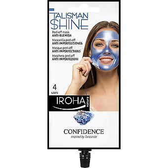 Iroha Peel Off Mask Blue Tanzanite Anti-blemish For Women