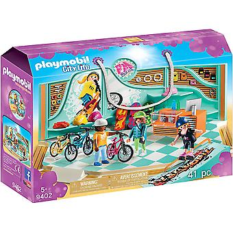 Playmobil 9402 City Life Bike & Skate Shop mit Rampe