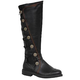 Černý SM, venkovní boty