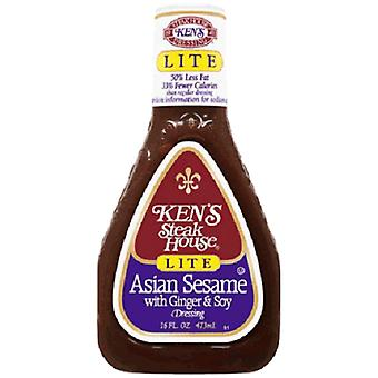 Ken's Steakhouse Lite Asian Sesame Dressing