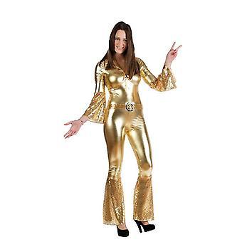 Disco de Diva Disco Queen Womens costume Mesdames jumpsuit