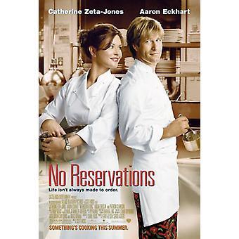 Geen reserveringen (dubbelzijdig regelmatig) originele Cinema poster