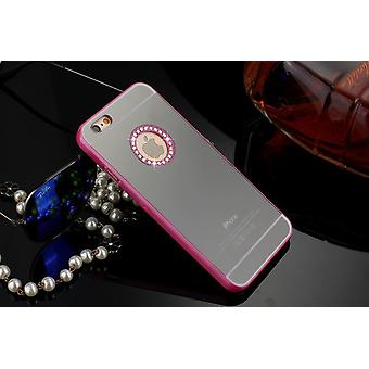 IPhone 6 / 6S 4.7 Luxury Mirror Cover Case Pink
