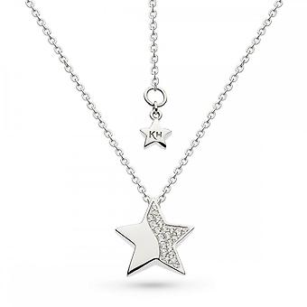 Kit Heath Miniature Sparkle Zirconia Super Star 20 Necklace 90033CZ027