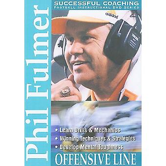 Phil Fulmer: Offensive Line [DVD] USA import
