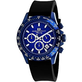 Oceanaut Men-apos;s Biarritz Blue Dial Watch - OC6117R