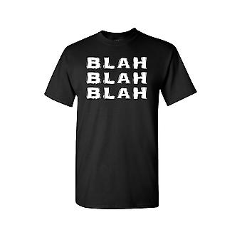 Unisex Blah Blah Blah Short Sleeve Shirt