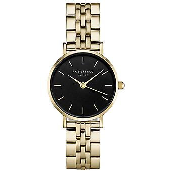 Rosefield small edit Quartz Analog Women's Watch with 26BSG-268 Stainless Steel Bracelet