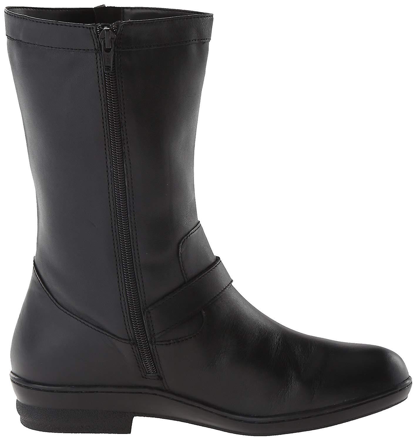 David Tate Womens Dorthy Leather Round Toe Ankle Fashion Boots
