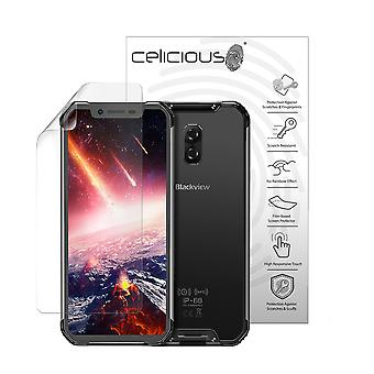 Celicious Vivid Plus Mild Anti-Glare Screen Protector Film Compatible with Blackview BV9600 [Pack of 2]