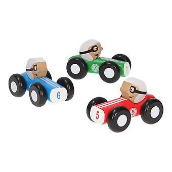 Jouéco Houten Raceauto