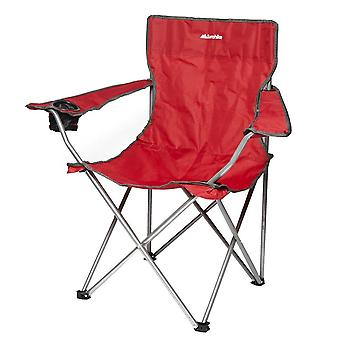 New Eurohike Peak Folding Chair Camping Furniture Red